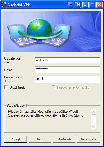 Identity pokusím připojit k Portálu.